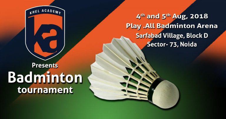 Noida Badminton Tournament