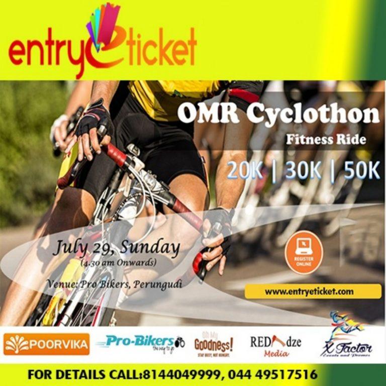 OMR Cyclothon in chennai allsport