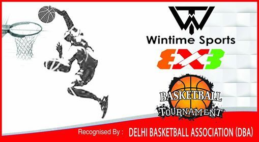 Wintime sports basketball tournament allsport