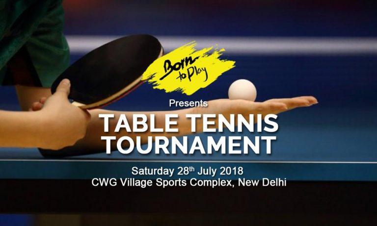 Table Tennis Tournament ALLSPORT