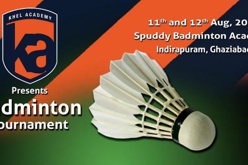 Khel Academy | Badminton Tournament