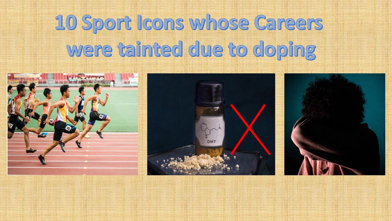 Doping Sport Icons